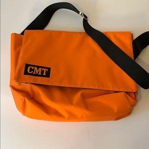 CMT orange messenger bag very rare. NWOT.